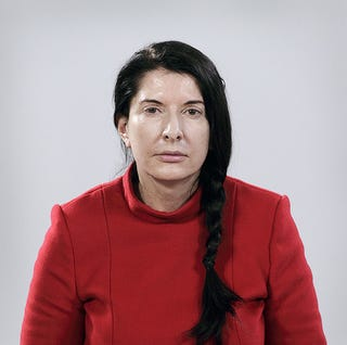 Illustration for article titled Can Marina Abramović Even See People Without Her Glasses?