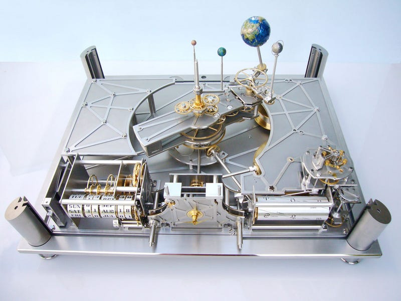 Illustration for article titled 18 Mechanical Planetary Models