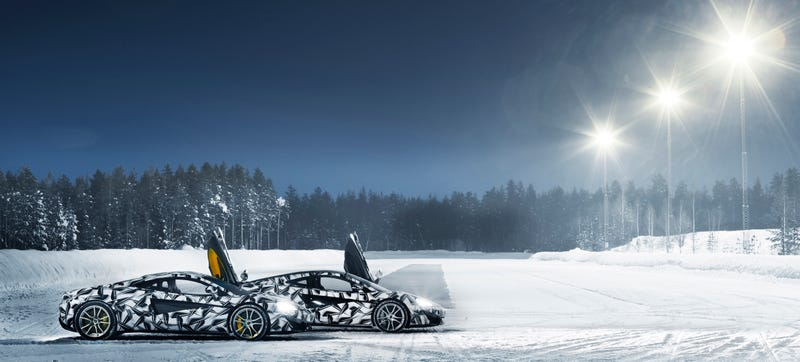 Illustration for article titled Escape To McLaren's Ice Driving Experience In Finland For The Low Price Of $15,000
