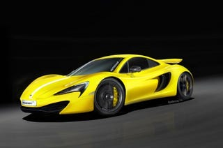 Illustration for article titled £120k P13 shifting McLaren downmarket