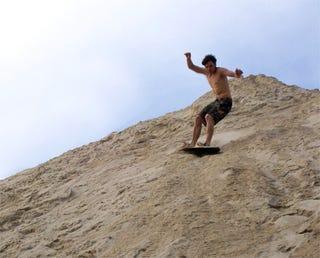 Sandviper Board Lets You Surf On Sand Dunes