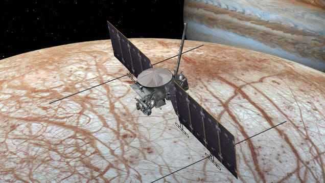 Congressman Divulges Unreleased Study to Win Support for Life-Hunting Mission to Jupiter s Moon Europa