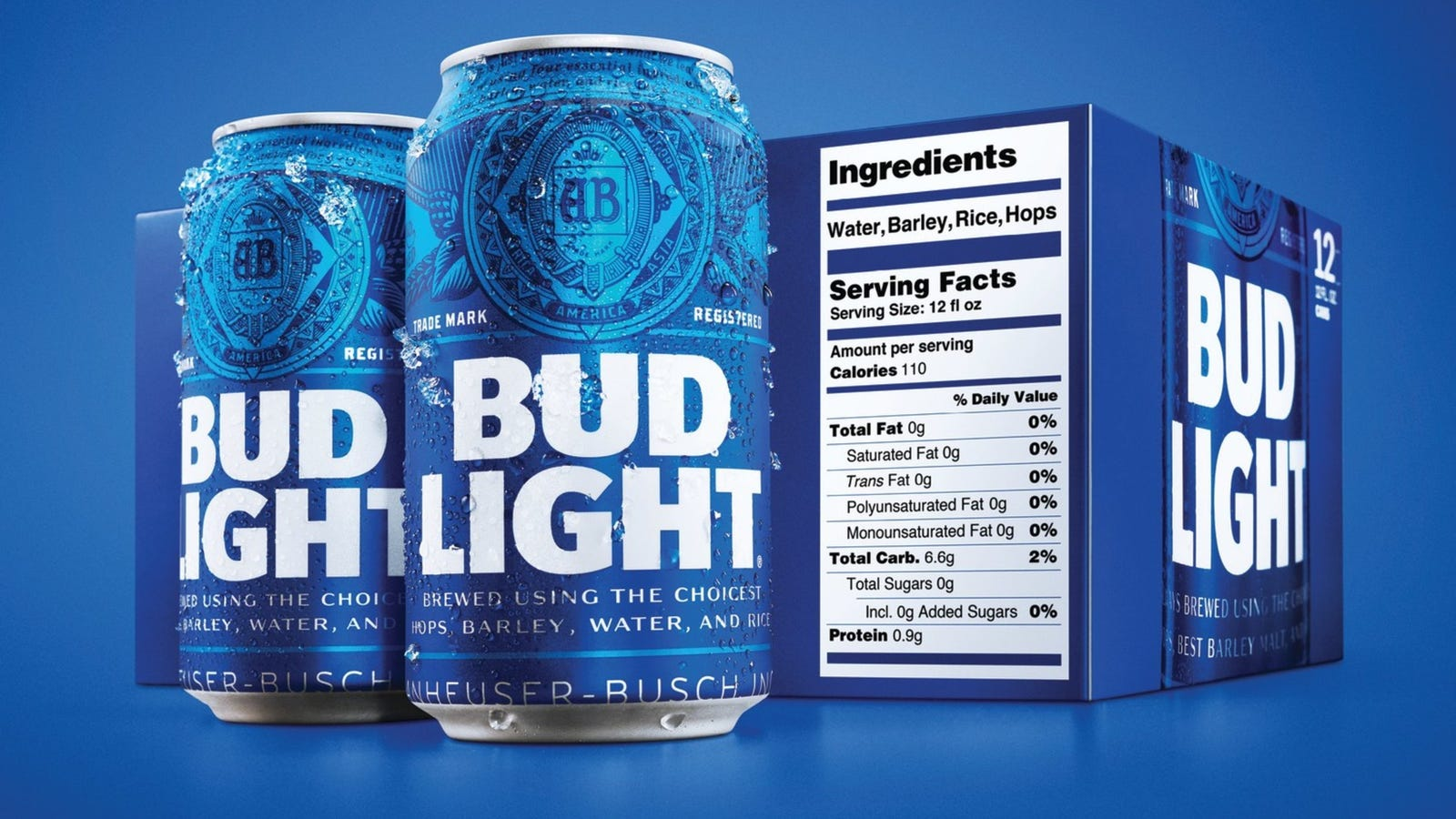 Best Tasting Light Beer 2020 Bud Light becomes first American beer labeled with nutritional facts