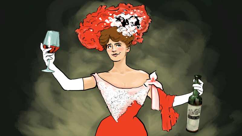 Illustration for article titled Here's How to Get Lit Like a Turn-of-the-Century Lush