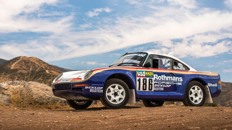 Rally Motor Credit >> If You Don T Buy Me This Paris Dakar Porsche 959 Rally Car You Re