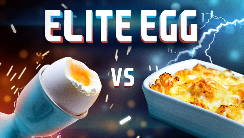 Illustration for article titled Elite Egg, day 2: Soft-boiled vs. baked, plus over-easy battles over-medium