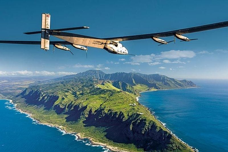 Illustration for article titled This Solar-Powered Plane Just Set A New Flight Record