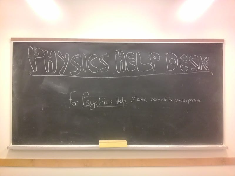Illustration for article titled Physics Help Desk!