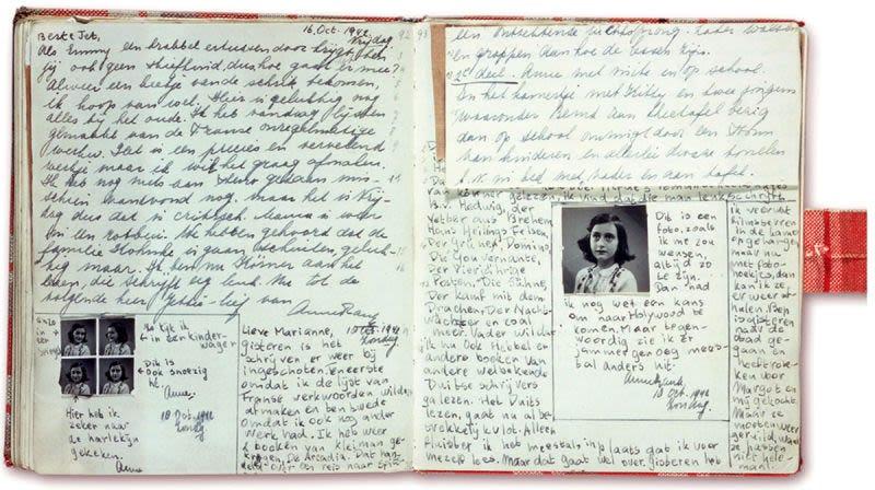 Illustration for article titled Descubren el contenido de dos nuevas páginas del diario de Ana Frank que ella misma escondió para que no fueran leídas
