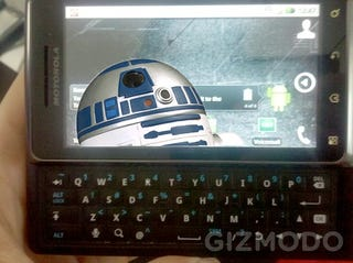 Illustration for article titled Droid 2 Launching August 12 With R2-D2 Edition?