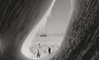 Fascinantes fotos históricas de la Antártida y otros lugares helados
