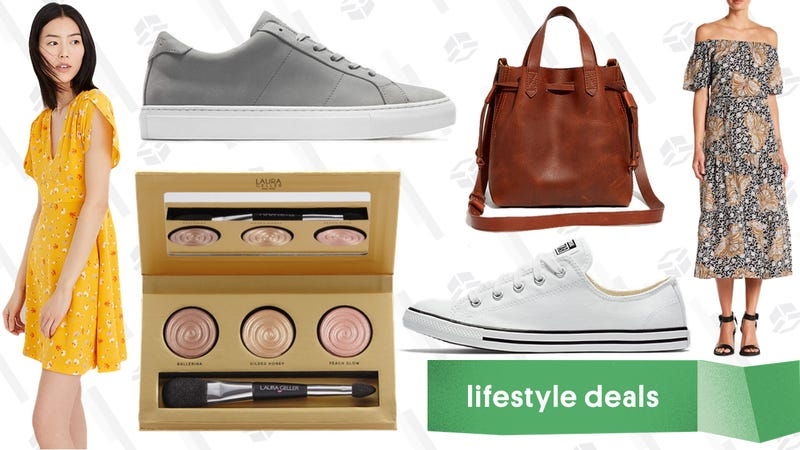Illustration for article titled Friday's Best Lifestyle Deals: GREATS, Madewell, A.L.C., Converse, Laura Geller, and More