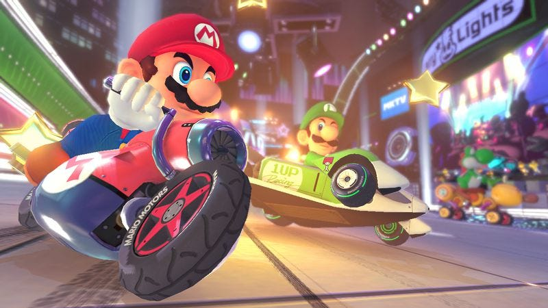 Illustration for article titled Watch Dogs is almost here at long last, and Mario Kart returns