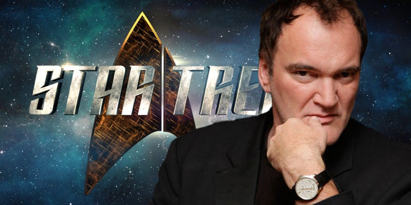 Illustration for article titled Why No One Needs to Worry (Yet) about Quentin Tarantino Making a Star Trek Movie