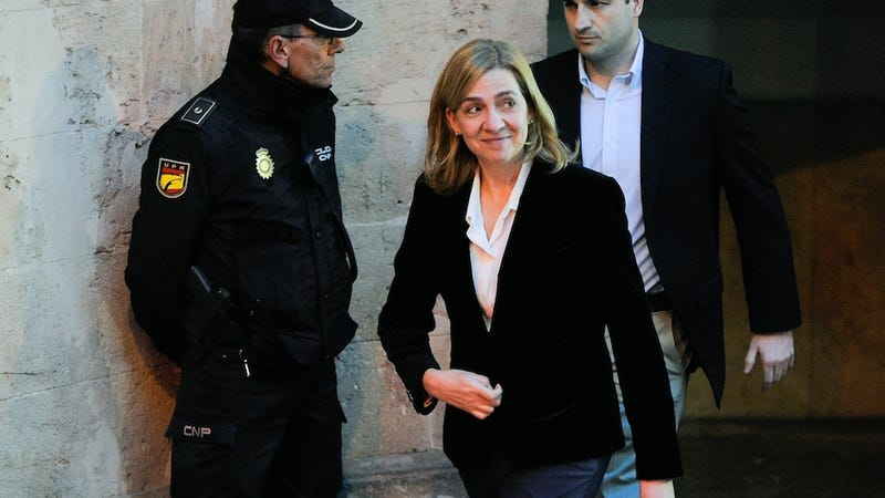 Illustration for article titled Spanish Princess Has to Stand Trial for Tax Fraud
