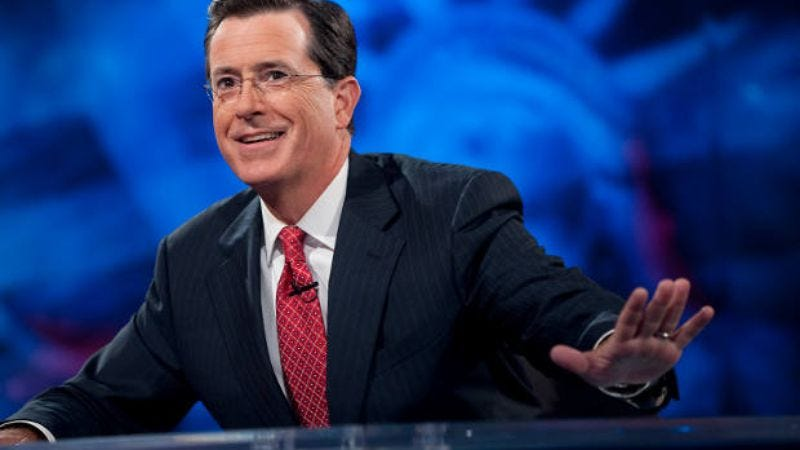 Illustration for article titled Stephen Colbert is going to be in one of The Hobbit films
