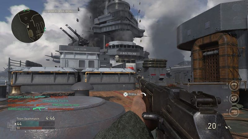 Call of duty wwiis nine multiplayer maps arent nearly enough call of duty wwii is a fantastic return to the historic wwii era if you dont mind playing your favorite game modes on only nine maps publicscrutiny Gallery