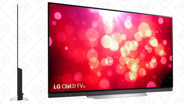 These Glass-Framed OLED TVs Are Basically Works of Art, and They ve Never Been Cheaper