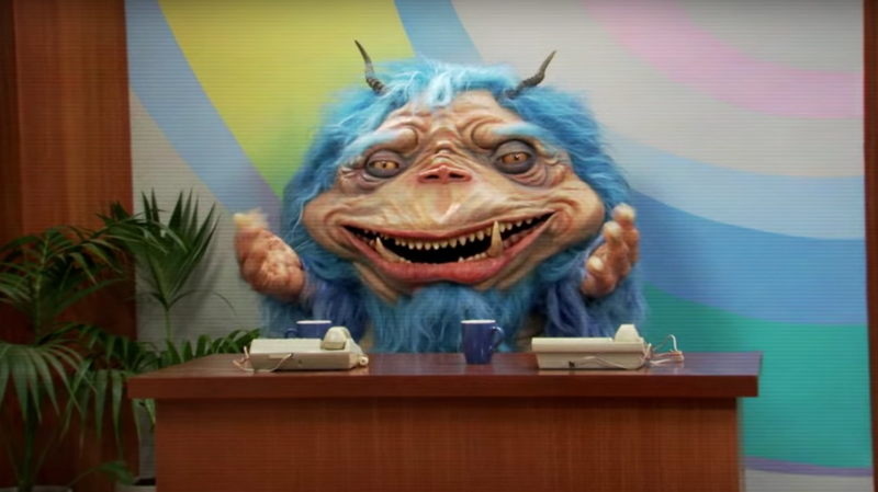 Illustration for article titled Comedy Central Adds Blue Alien to Late-Night with The Gorburger Show