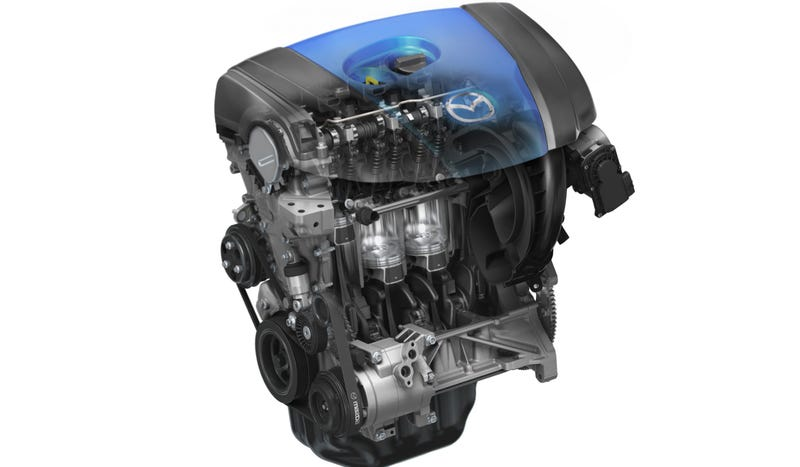 Illustration for article titled Mazda's Engines Could Be Cleaner Than EVs, Depending On Where You Live