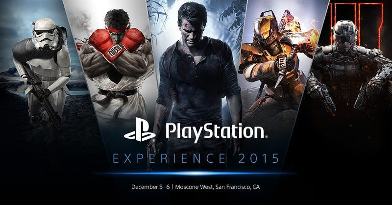 Illustration for article titled Watch The 2015 PlayStation Experience Keynote Live Here [UPDATE: Over]
