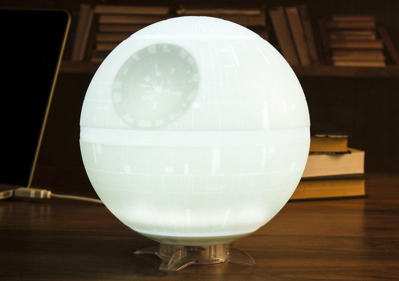 Illustration for article titled A Death Star Nightlight Guarantees a Good Night's Sleep