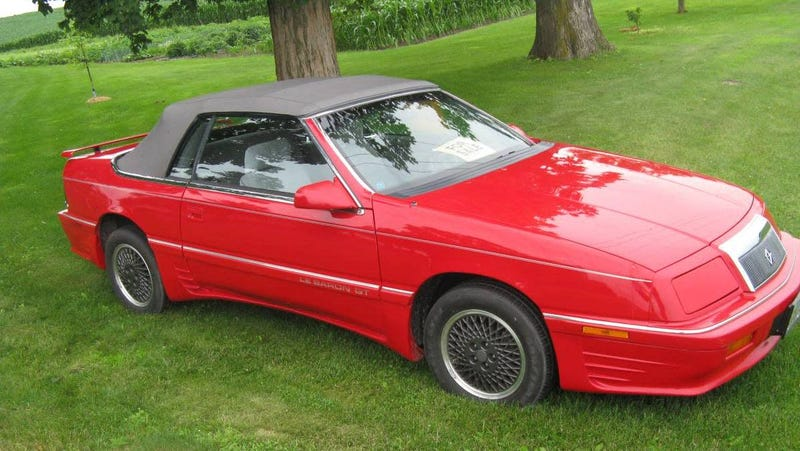 Illustration for article titled At $4,500, Could You Do Some Grand Touring in This 1990 Chrysler LeBaron GT?