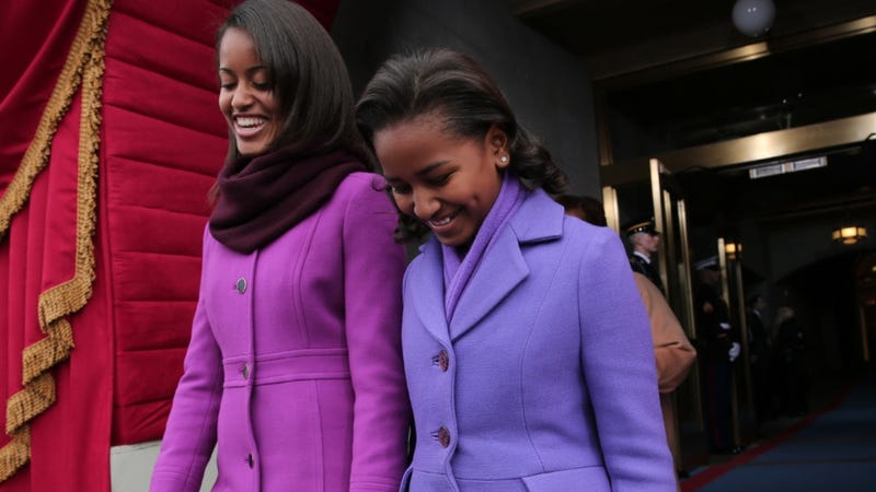 Illustration for article titled Jerk Journalist Doesn't Give a Shit About Standards, Writes About Sasha and Malia's Spring Break