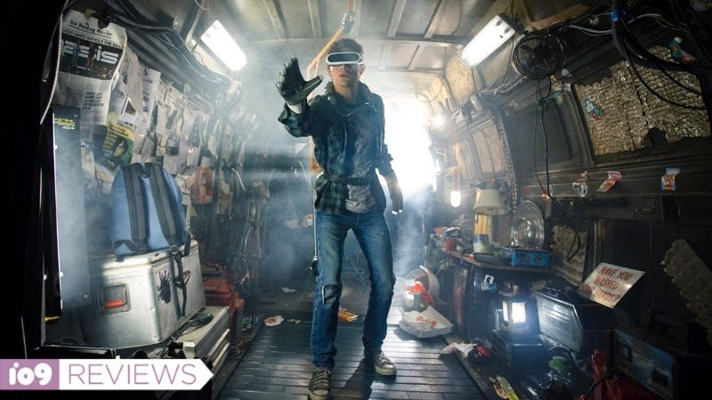 Ready Player One's Wade Watts (Tye Sheridan) spends most of his waking hours in a global VR simulation.