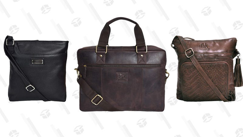 Leather Bags and Purses Gold Box | Amazon