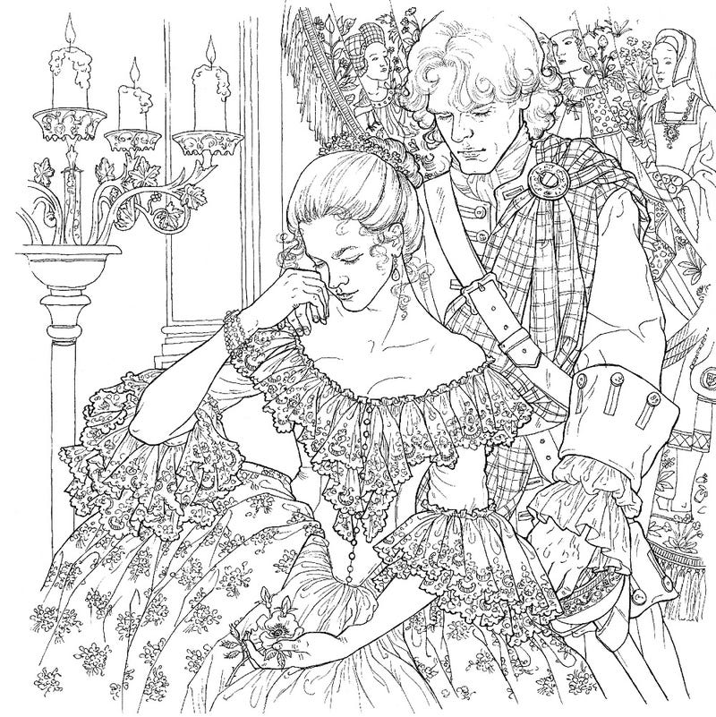The Outlander Coloring Book Is An Actual Thing That Exists