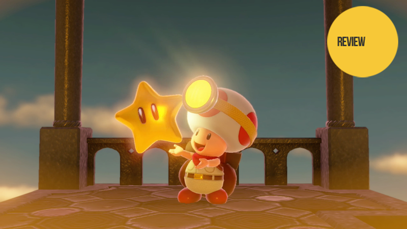Illustration for article titled Captain Toad: Treasure Tracker: The Kotaku Review