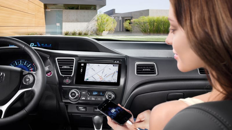 Illustration for article titled Honda Evolves In-Car Connectivity With New Display Audio Touch-Screen Interface And Next Generation HondaLink™ Technology