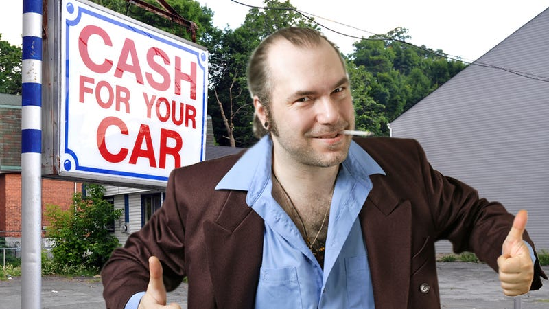 Illustration for article titled Don't buy a used car right now