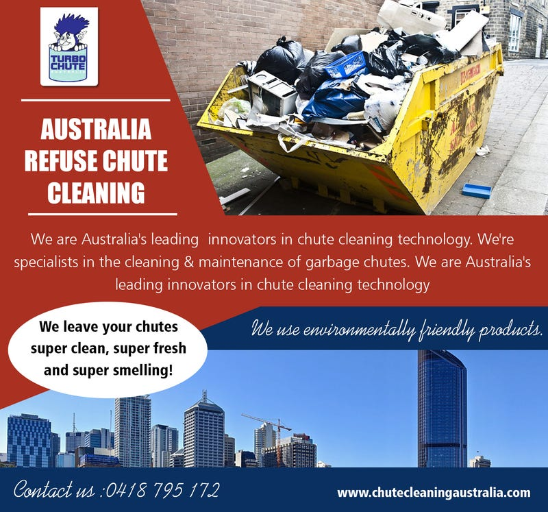 Illustration for article titled Australia Refuse Chute Cleaning