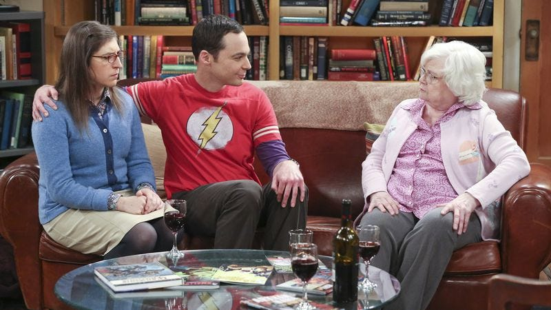 Illustration for article titled The Big Bang Theory wastes a visit from the legendary Meemaw