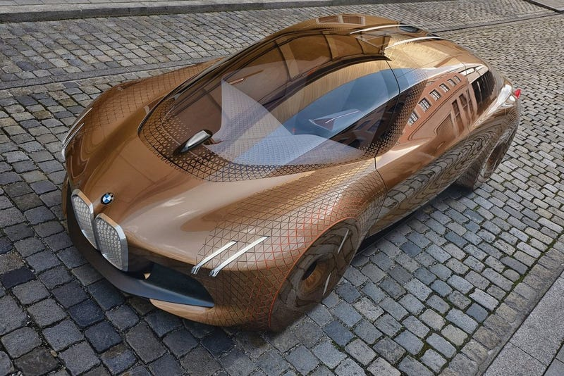 Pictured: BMW 2016 Vision Next 100 Concept
