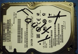 Illustration for article titled You Won't Fix My Hard Drive Because I WROTE on the Label?