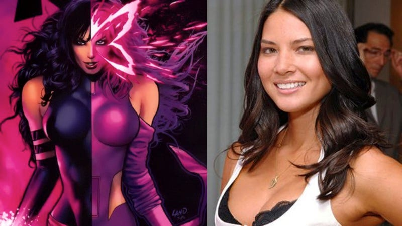 Illustration for article titled Olivia Munn is X-Men: Apocalypse's Psylocke