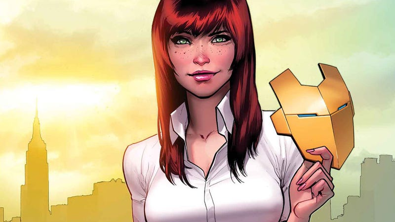Illustration for article titled Looks Like Iron Man Might Be Getting Closer with Spider-Man's Ex-Girlfriend