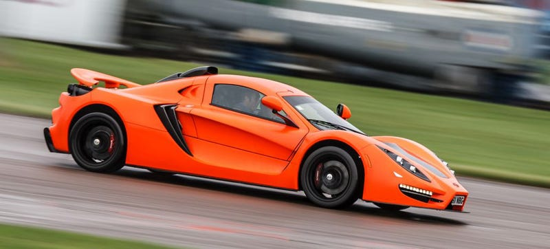 Illustration for article titled The Sin R1 GT Is What A Lotus Exige Would Be With An LS3 V8
