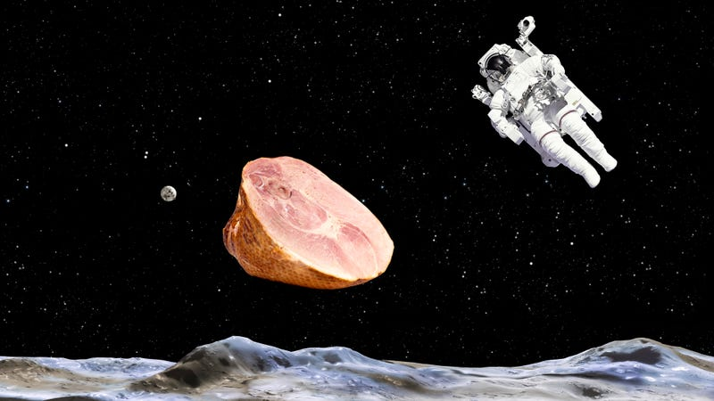 Easter ham denied to International Space Station