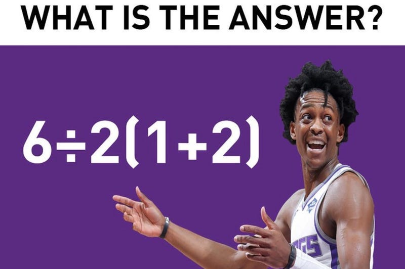 Illustration for article titled Sacramento Kings Use Their Free Time To Get Everyone To Argue About The Order Of Operations