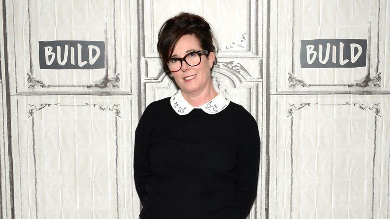 Designer Kate Spade in April 2017 in New York City
