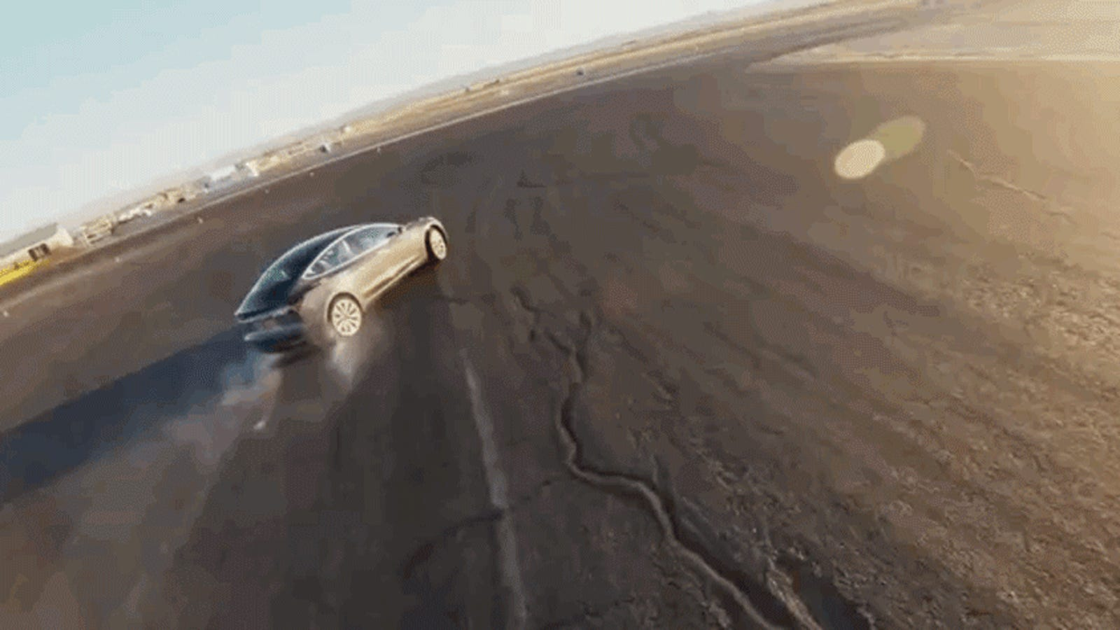 Track Mode Is Out to Turn a Tesla Model 3 Performance Into a Drift Machine