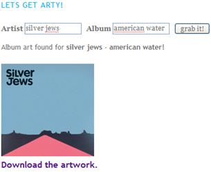 Illustration for article titled Get Huge, High Quality Album Artwork from the iTunes Album Art Grabber