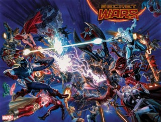 Illustration for article titled Marvel Finally Reveals What's Happening With Secret Wars