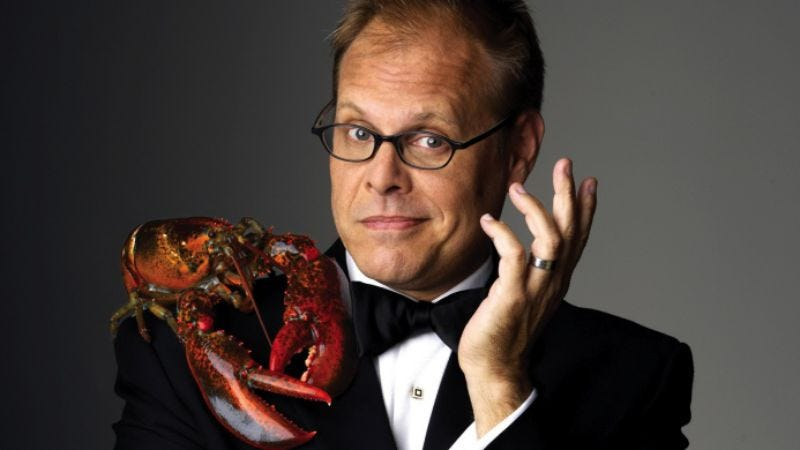 """Illustration for article titled Alton Brown on his love of food and suspicion of """"chefs"""""""