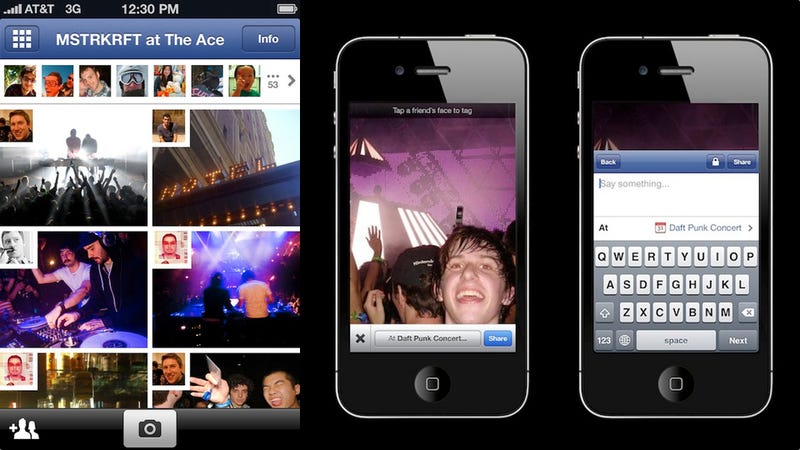 Illustration for article titled Leaked Facebook Photo Sharing iOS App Combines Every Possible Competitor