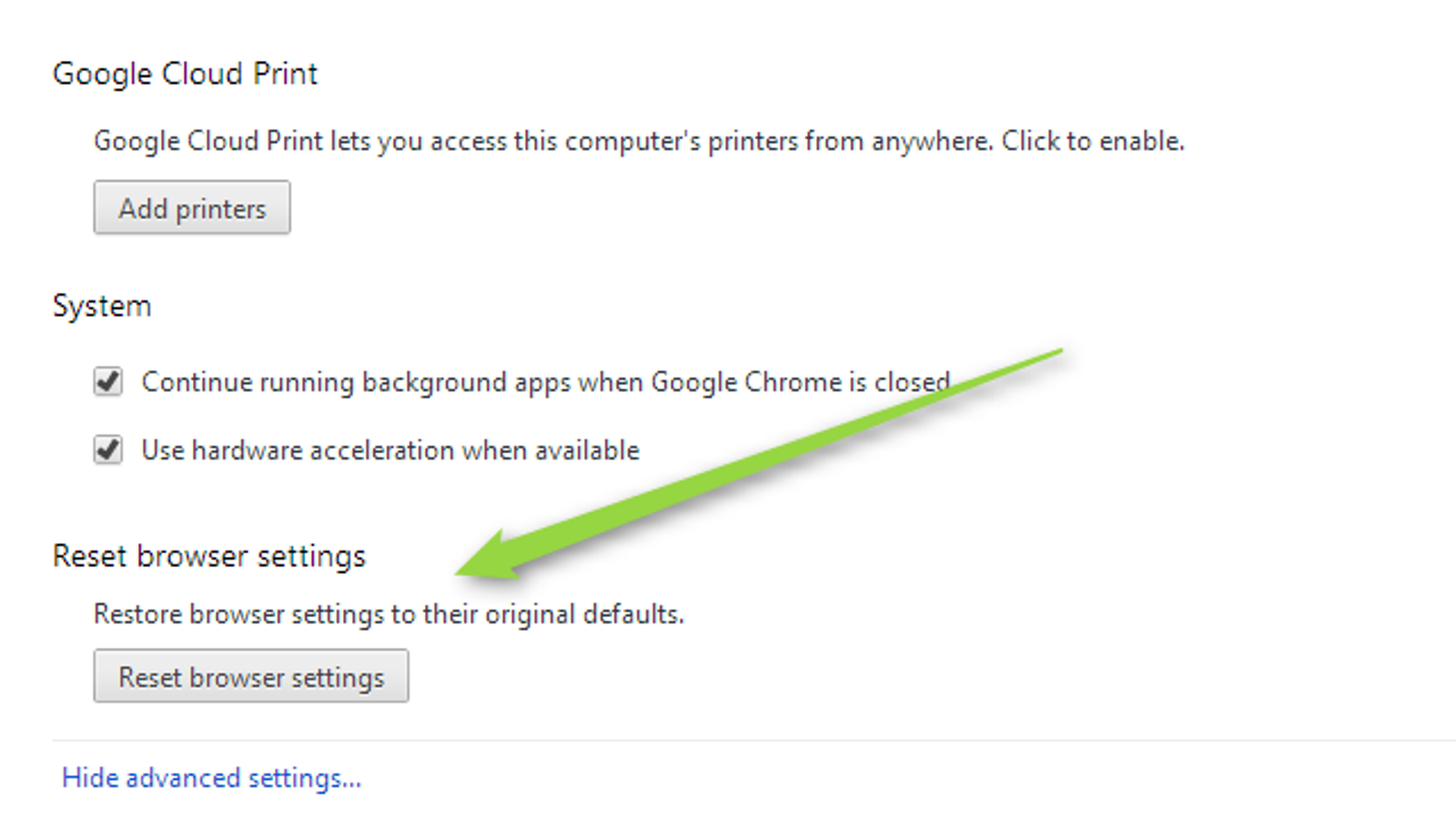 Chrome Gets a New Settings Reset Button, Improved Omnibox